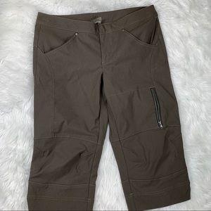 Athleta Nylon Cropped Capri Pants